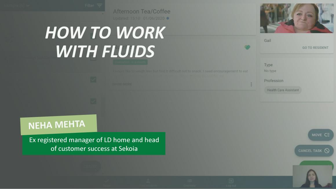 Working with Fluids in Sekoia