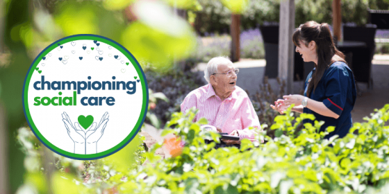 Championing social care header picture